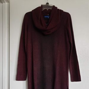 NEW Women's Sweater Tunic Long Sleeve Size Medium